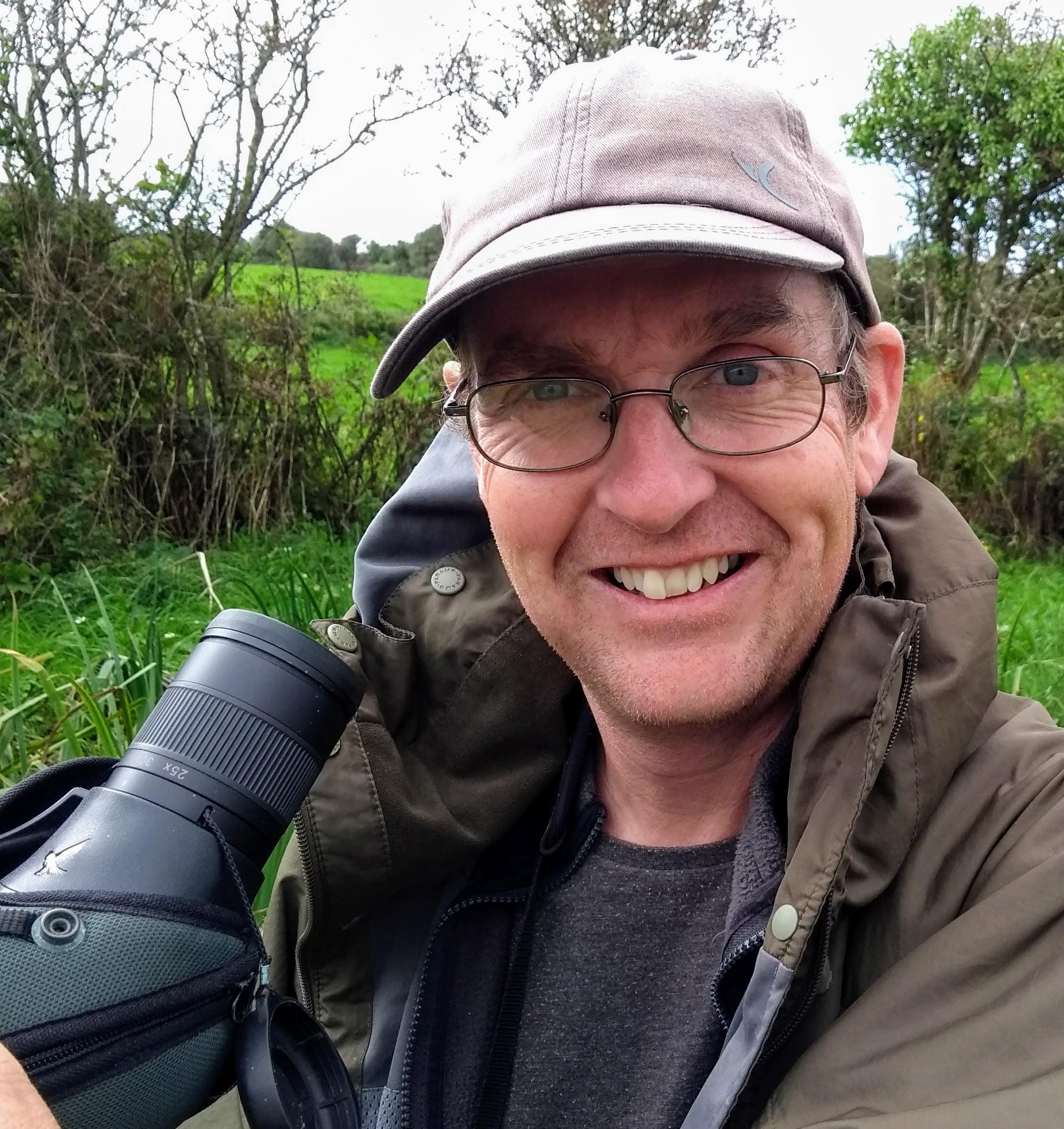 Professional Wildlife and Birding Guide Colin Barton